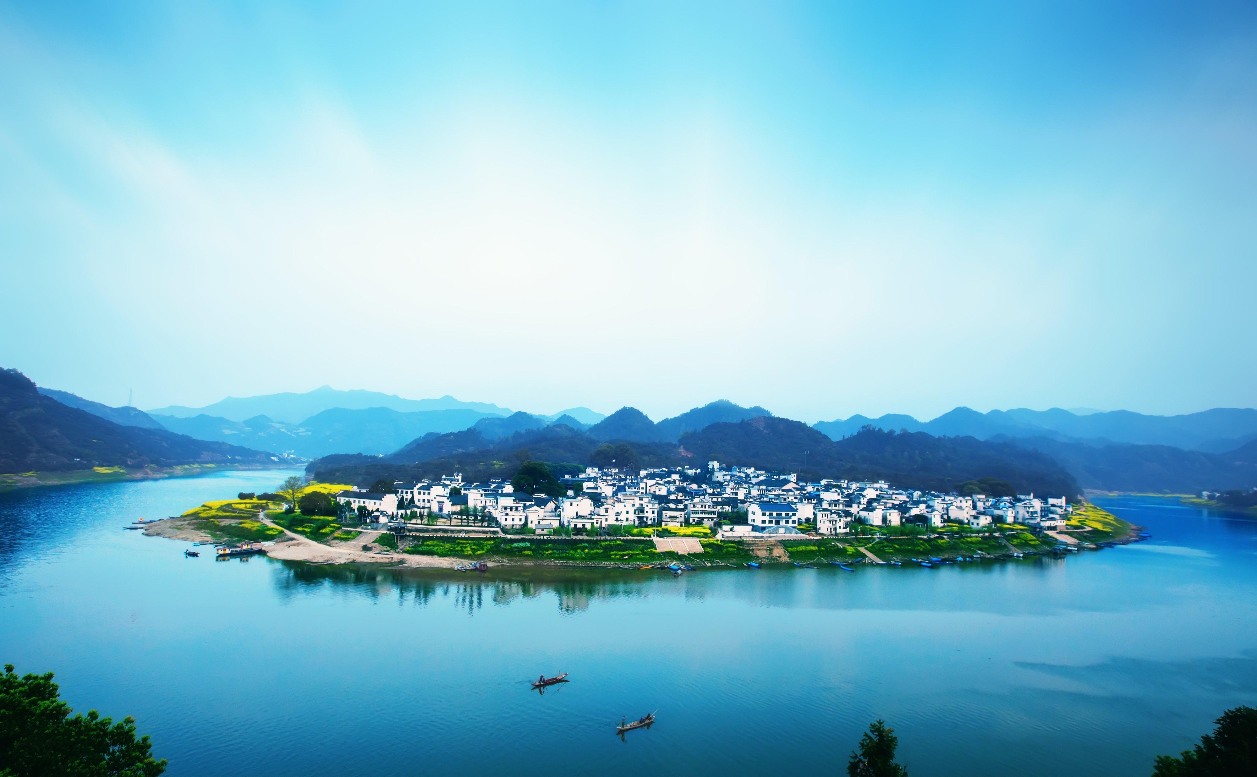 新安江山水画廊+徽州古城+渔梁坝一日游